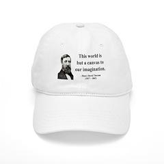 Henry David Thoreau 3 Baseball Cap