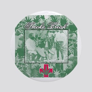 Pancho Villa Medical Smoke Break Ornament (Round)