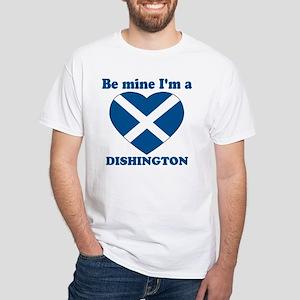 Dishington, Valentine's Day White T-Shirt