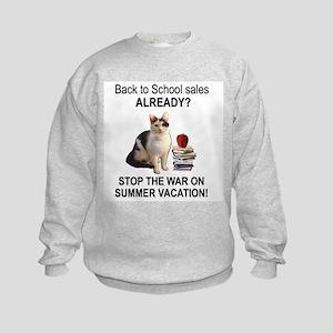 Summer Vacation Kids Sweatshirt