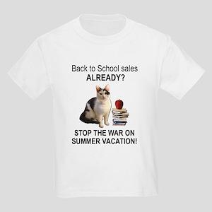 Summer Vacation Kids Light T-Shirt