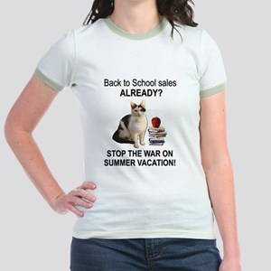 Summer Vacation Jr. Ringer T-Shirt