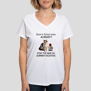 Summer Vacation Women's V-Neck T-Shirt