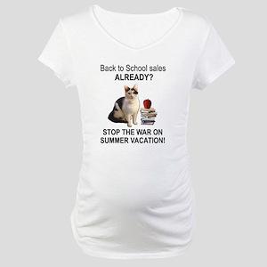 Summer Vacation Maternity T-Shirt