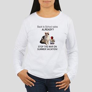 Summer Vacation Women's Long Sleeve T-Shirt