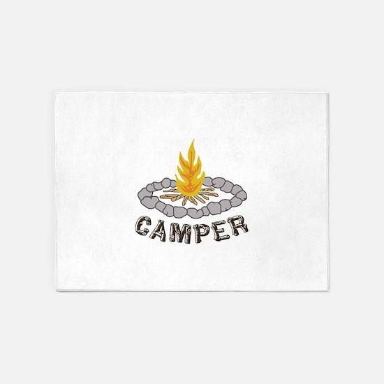 CAMPER 5'x7'Area Rug