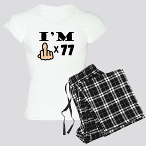 Im Middle Finger Times 77 Pajamas