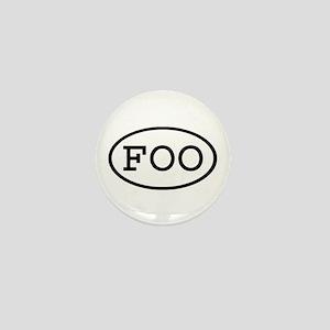 FOO Oval Mini Button