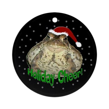 Kisco the Toad Holiday Ornament