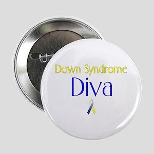 Down Syndrome Diva Button