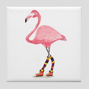 Styling Flamingo Tile Coaster