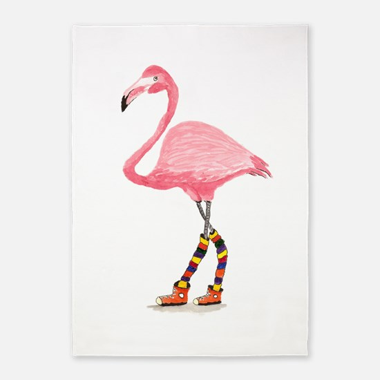 Styling Flamingo 5'x7'Area Rug