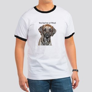 Great Dane Jamie You Had Me a Ringer T