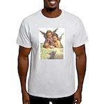 Guardian Angel Ash Grey T-Shirt
