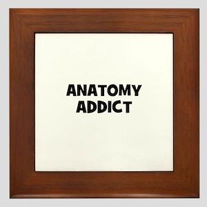 Anatomy Addict Framed Tile