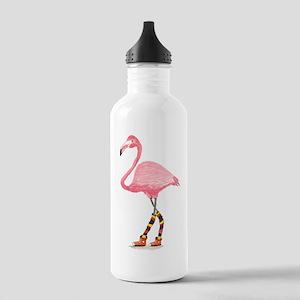 Styling Flamingo Water Bottle