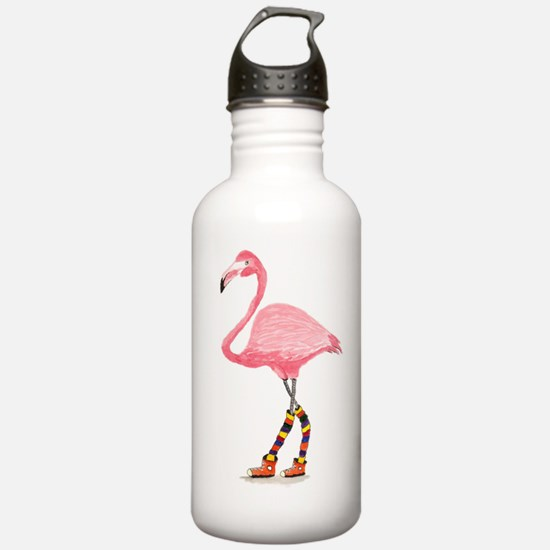 Styling Flamingo Water Bottle