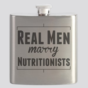 Real Men Marry Nutritionists Flask