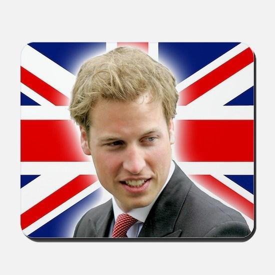 HRH Prince William Stunning! Mousepad