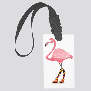 Styling Flamingo Large Luggage Tag