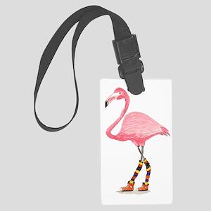 Styling Flamingo Large Luggage Tag