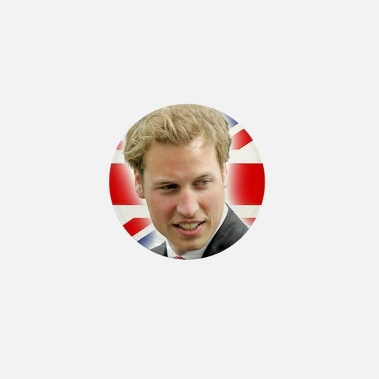 HRH Duke of Cambridge - Great Britons! Mini Button
