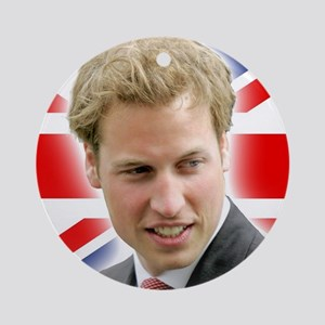 HRH Duke of Cambridge - Great Bri Ornament (Round)