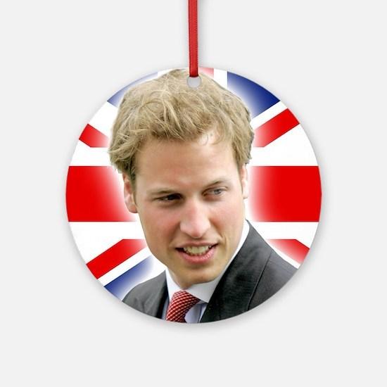 HRH Duke of Cambridge - Great Bri Ornament (Round)