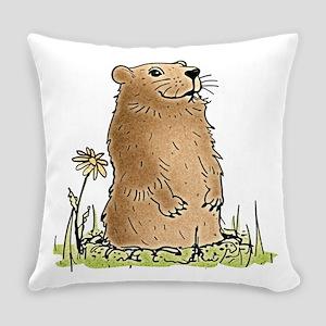 Cute Groundhog Master Pillow