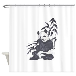 Giant Panda Shower Curtains