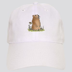 Cute Groundhog Baseball Cap