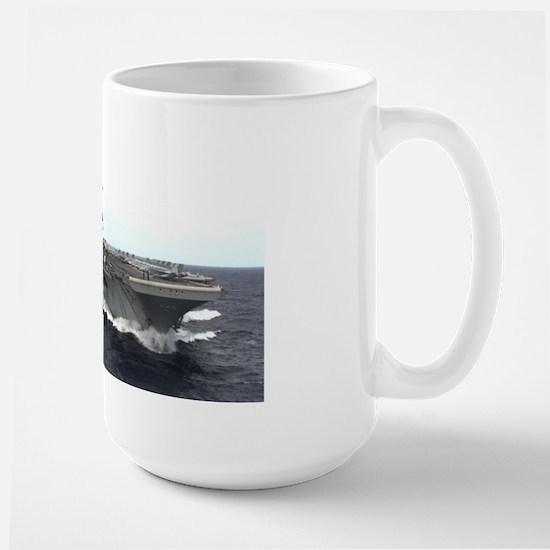USS Kitty Hawk CV63 Large Mug US Navy Gift