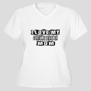 I Love My Costume Women's Plus Size V-Neck T-Shirt