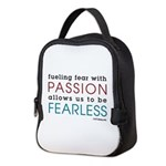 Fearless Passion Neoprene Lunch Bag