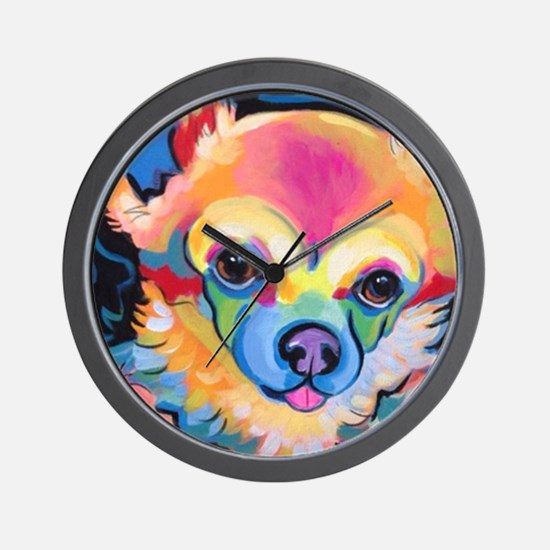 Unique Pop art pets Wall Clock