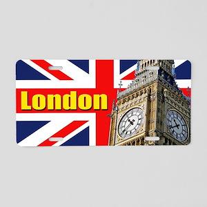 Magnificent! Big Ben London Aluminum License Plate