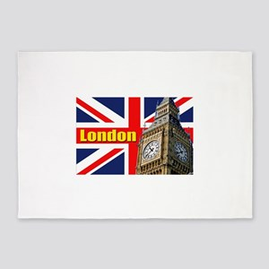 Magnificent! Big Ben London 5'x7'Area Rug