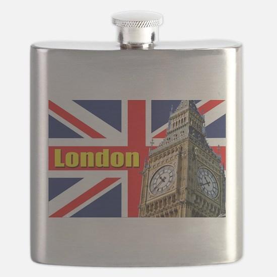 Magnificent! Big Ben London Flask
