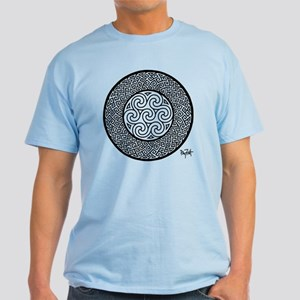 Pictish Key Whole Light T-Shirt