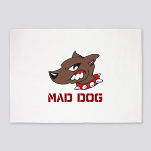 Mad Dog 5'x7'Area Rug