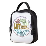 Surround Yourself Neoprene Lunch Bag