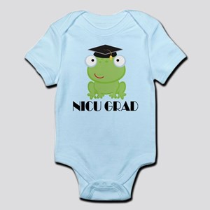 NICU Graduate Baby Frog Body Suit