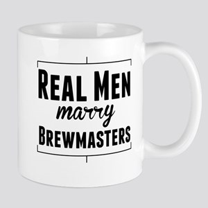 Real Men Marry Brewmasters Mugs