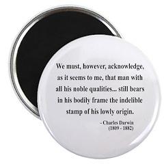 Charles Darwin 2 Magnet