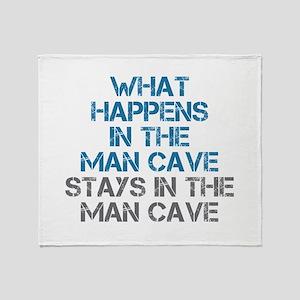 Man Cave Throw Blanket