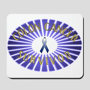 COLON CANCER SURVIVOR Mousepad