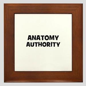 Anatomy Authority Framed Tile