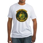 USS FRED T. BERRY Fitted T-Shirt