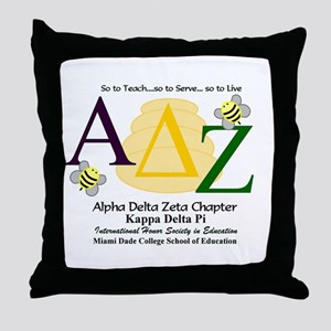 ADZ Chapter Throw Pillow