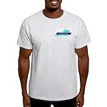 Ash Gray T-Shirt for a True Blue Kentucky LIBERAL
